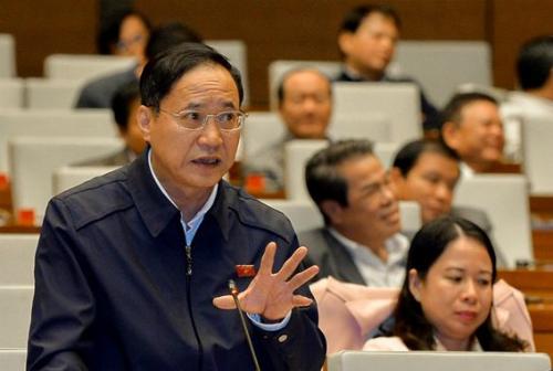 Thiếu tướng Nguyễn Mai Bộ, thường trực Uỷ ban Quốc phòng An ninh. Ảnh: QH