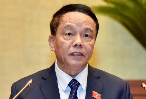 Chủ nhiệm Uỷ ban Quốc phòng - An ninh Võ Trọng Việt. Ảnh:Hoàng Phong.