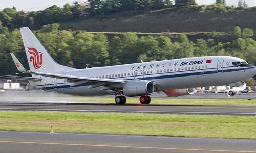 Một máy bay của hãng hàng không Air China. Ảnh: Flickr.