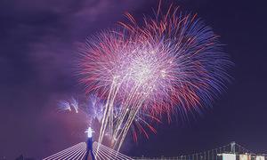 Mỹ và Italy vào chung kết pháo hoa quốc tế Đà Nẵng 2018