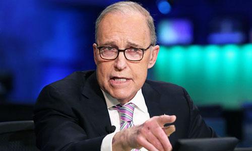 Cố vấn kinh tế của Trump, ông Kudlow. Ảnh: CNBC.