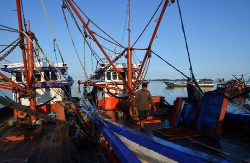Tàu cá của ngư dân Philippines. Ảnh: AFP.