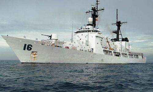 Một chiến hạm của hải quân Philippines. Ảnh:gmanetwork