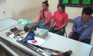Ba người Lào vận chuyển 31.000 viên ma túy vào Việt Nam