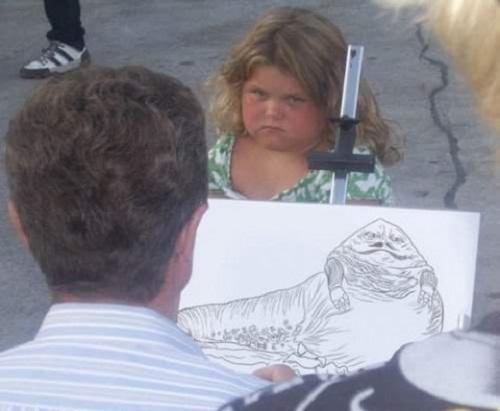 Không một ai quá đáng hơn bác họa sĩ này.