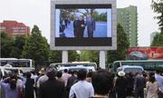 Người Triều Tiên tụ tập xem tin tức về thượng đỉnh Trump - Kim