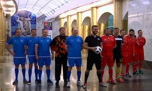 Người Nga đá bóng dưới lòng đất chào đón World Cup 2018