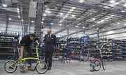 Nhà máy sản xuất 1.000 chiếc xe đạp gấp mỗi tuần