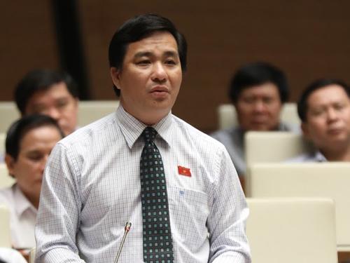 Đại biểu Dương Minh Tuấn. Ảnh: Hoàng Phong.
