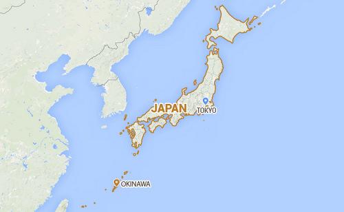 Okinawa là tỉnh cực nam của Nhật Bản. Đồ họa: NDTV.