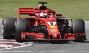 Vettel nhất chặng đua Canada 2018