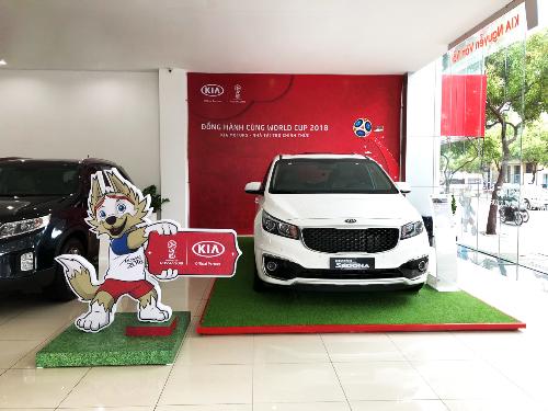 Kia Motors đồng hành cùng World Cup 2018.