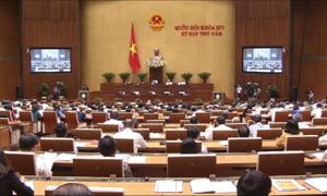 423 đại biểu Quốc hội bỏ phiếu thông qua Luật An ninh mạng