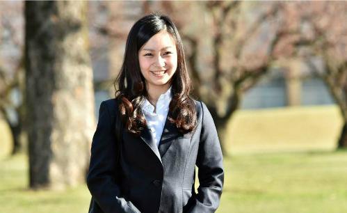Công chúa Kako tại trường ICU (Tokyo, Nhật Bản). Ảnh: Getty Images
