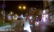Vá» Äụng xe máy, kẻ lạ mặt chặn Äầu Än vạ ôtô á» Sài Gòn