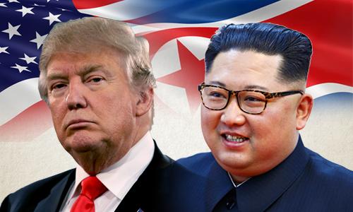 Hai tháng sóng gió dẫn tới cuộc gặp thượng đỉnh Kim - Trump. Bấm vào ảnh để xem đầy đủ.