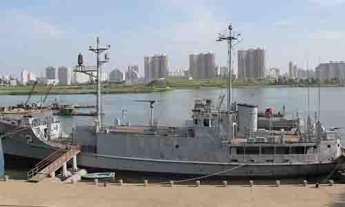 Tàu USS Pueblo hiện còn được trưng bày ở Bình Nhưỡng. Ảnh: Wikipedia.