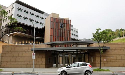 Văn phòng đại diện mới của Mỹ tại Đài Bắc, Đài Loan. Ảnh: Reuters.
