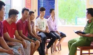 107 người bị tạm giữ vì cáo buộc gây rối ở Bình Thuận