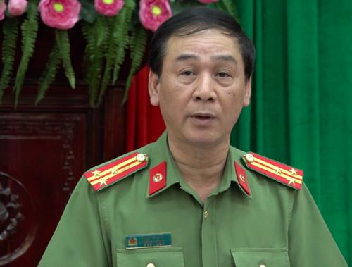 Ông Phạm Tùng Vân, Phó phòng Tham mưu (Công an TP Hà Nội). Ảnh: Võ Hải.