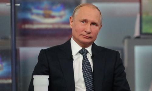 Putin tại Moscow ngày 7/6. Ảnh: AFP.