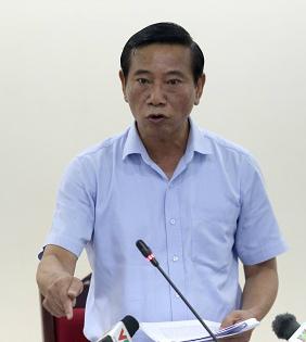 Chủ tịch UBND quận Ba Đình cho biết sẽ giải quyết dứt điểm vụ việc trong tháng 6. Ảnh: Gia Chính