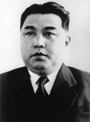 Kim Nhật Thành vào năm 1950. Ảnh:Hulton Archive.