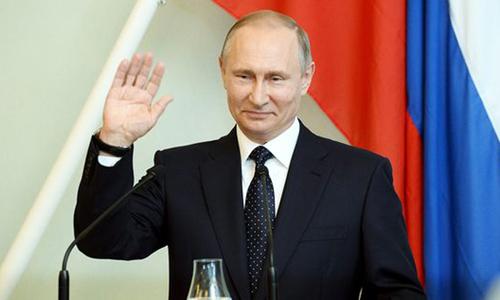 Tổng thống Nga Putin. Ảnh: Lehtikuva.