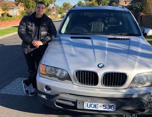 Một cư dân Melbourne khác cũng lái một chiếc BMW và cũng nhận được thông báo phạt tương tự. Ảnh: 9 News.