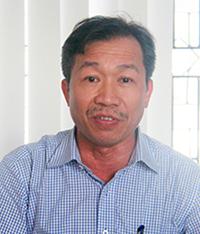 Ông Đinh Văn Dũng thời còn làm Tổng giám đốc Công ty Bình Hà. Ảnh:Báo Hà Tĩnh