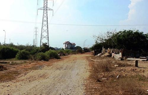 Dự án khu dân cư Bắc Rạch Chiếc sau 20 năm vẫn chưa hoàn thiện. Ảnh: PLTP
