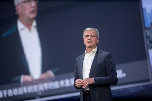 Rupert Stadler, người đứng đầu hãng xe Audi, bị điều tra vì có liên quan đến bê bối gian lận khí thải của VW.