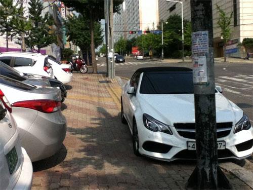 Đỗ xe đang được ví với cuộc chiến mới ở Hàn Quốc, đặc biệt tại các thành phố lớn như Seoul. Ảnh: