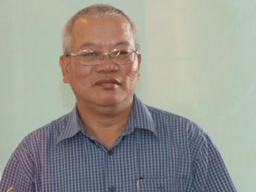 Cựu chủ tịch HĐQT PVTex Trần Trung Chí Hiếu. Ảnh: A. Khoa.