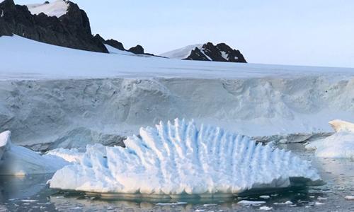 Băng tan quá nhiều tại Nam Cực sẽ gây ra hậu quả nghiêm trọng. Ảnh:University of Leeds.