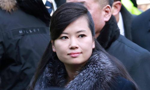 Hyon Song-wol tại Hàn Quốc hồi tháng hai. Ảnh: Reuters.