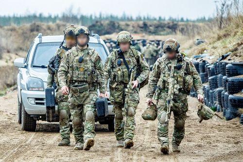 Các sĩ quan đặc nhiệm FSB sau một buổi huấn luyện năm 2017. Ảnh: TASS.