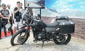 Royal Enfield Himalayan - xế off-road về Việt Nam