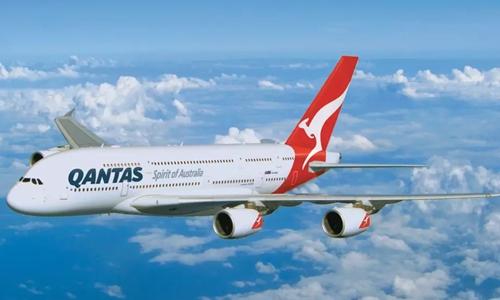 Một chiếc A380 của hãngQantas. Ảnh: SMH.