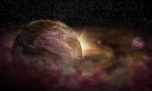 Ba hành tinh mới 'chào đời' quanh ngôi sao 4 triệu năm tuổi