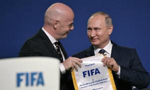 World Cup - cơ hội thể hiện quyền lực mềm của Putin