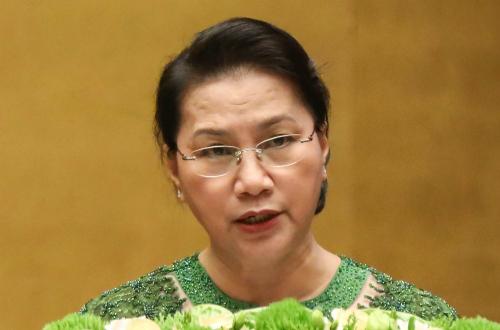 Chủ tịch Quốc hội Nguyễn Thị Kim Ngân. Ảnh: Hoàng Phong.