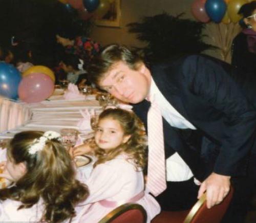 Bức ảnh Ivanka đăng chúc mừng sinh nhật Trump. Ảnh: Twitter.