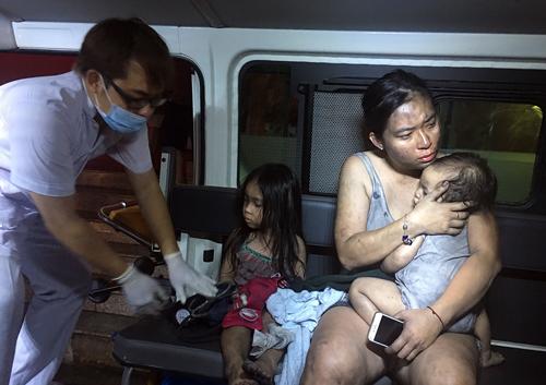 Vụ cháy chung cư Carina (TP HCM) hồi tháng 3 gây thiệt hại nặng nề về người và tài sản. Ảnh: Quỳnh Trần.
