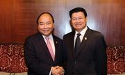 Thủ tướng Nguyễn Xuân Phúc hội đàm với Thủ tướng Lào, Thái Lan