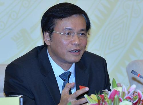 Tổng thư ký Quốc hội Nguyễn Hạnh Phúc. Ảnh: QH.