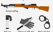Các loại vũ khí công an xã được xem xét trang bị từ tháng 7