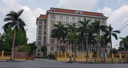 Sở Nông nghiệp và Phát triển nông thôn tỉnh Thanh Hoá - nơi xảy ra nhiều sai phạm trong bổ nhiệm cán bộ. Ảnh: Lê Hoàng.