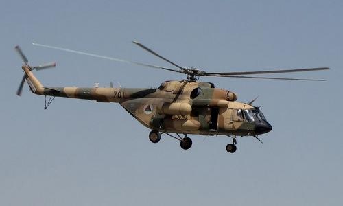 Trực thăng Mi-17V5 trong biên chế không quân Afghanistan. Ảnh: Wikipedia.