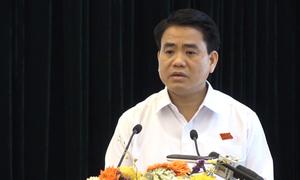 Chủ tịch Hà Nội nhận trách nhiệm vì đường sắt trên cao chậm tiến độ